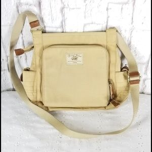 Fossil Canvas Crossbody Handbag Purse